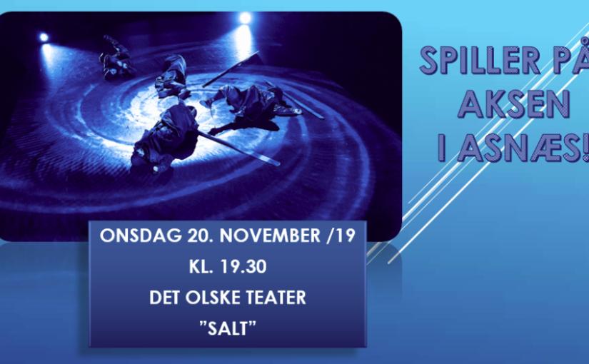 SALT -en fysisk teaterforestilling om fattigdom og frisind
