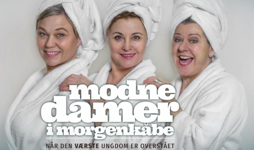 Modne Damer i Lun komedie om dét at blive ældre  (Udsolgt)