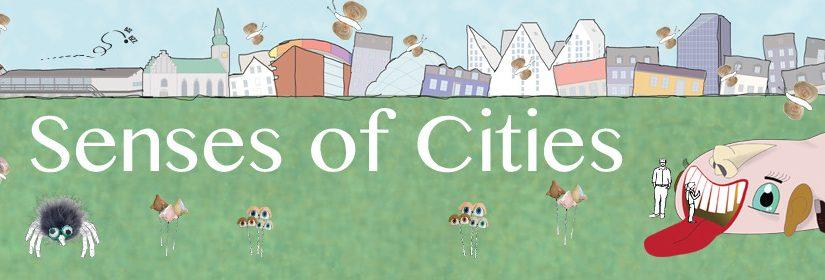 SENSES OF CITIES  – (Byrumsskulptur med interaktiv sanseinstallation og scenerum til en sanselig småbørnsforestilling)